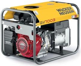 Agregat prądotwórczy trójfazowy Wacker Neuson GV 7003A