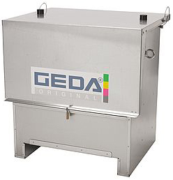 150/200 kg ladder section Geda (1 m) for inclined hoists