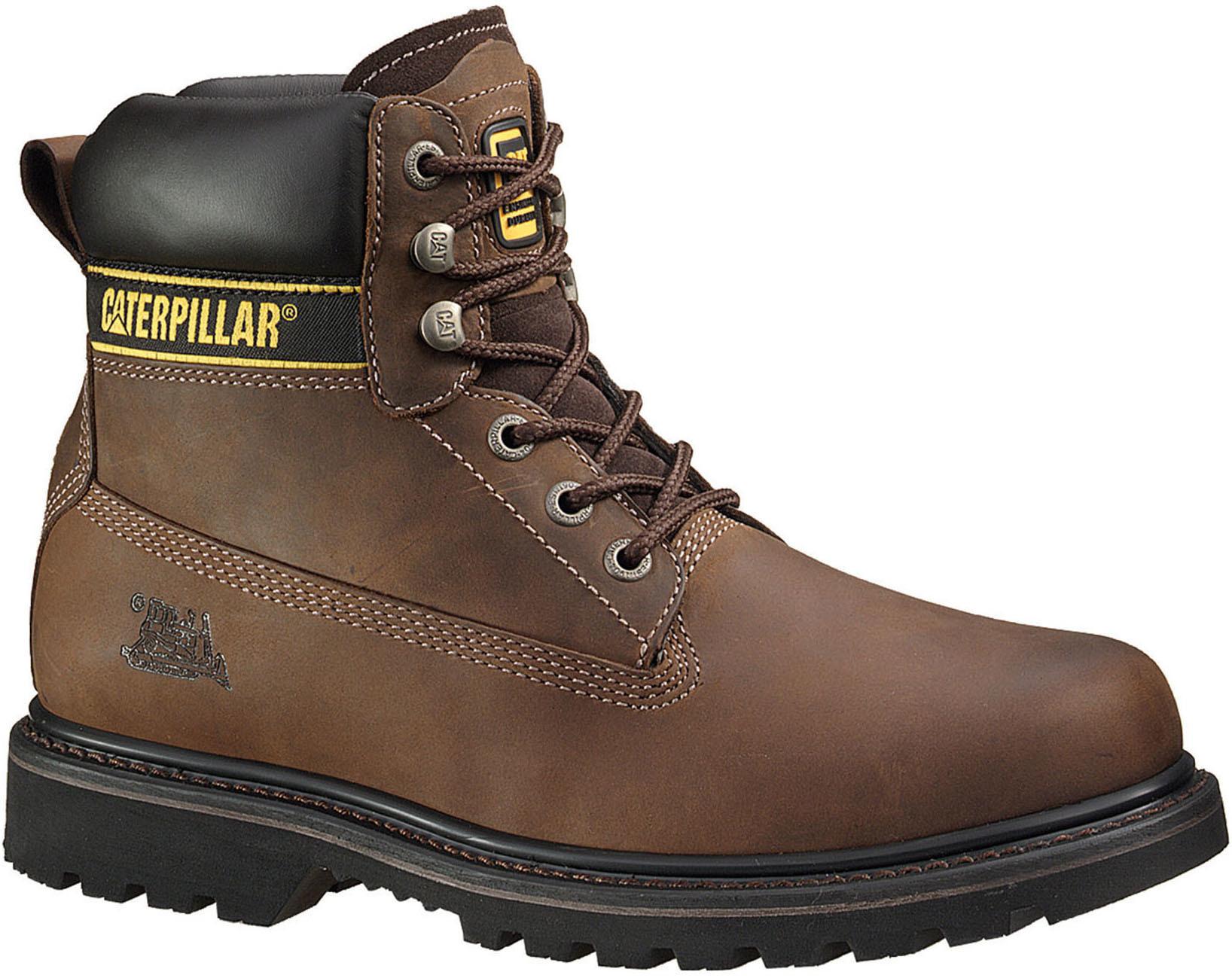 af03465c31ff29 Męskie buty robocze Caterpillar Holton ST S3 HRO SRC brązowe | Sklep ...