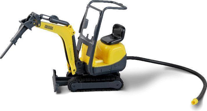 Mini-excavator Wacker Neuson1:24 scale