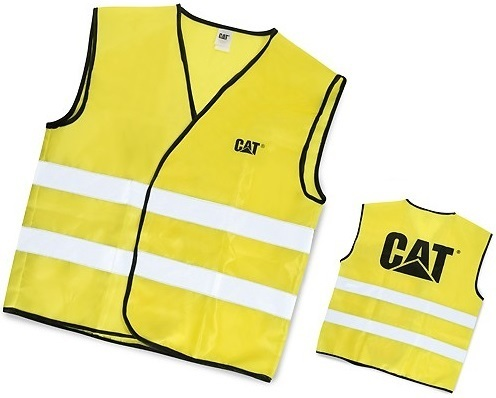 Vest High Visibility Vest Visibility High Caterpillar m0OvN8nw