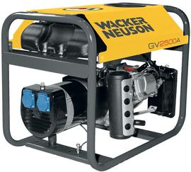 Agregat prądotwórczy jednofazowy Wacker Neuson GV 2500A