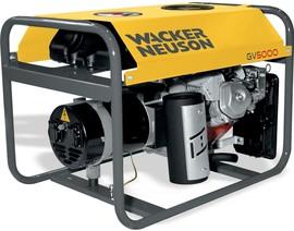 Agregat prądotwórczy jednofazowy Wacker Neuson GV 5000A
