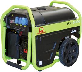 Agregat prądotwórczy jednofazowy Pramac PX5000 AVR