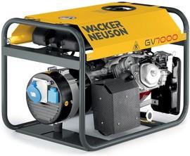 Agregat prądotwórczy jednofazowy Wacker Neuson GV 7000A