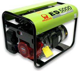 Agregat prądotwórczy jednofazowy Pramac ES5000 AVR