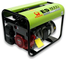 Agregat prądotwórczy trójfazowy Pramac ES8000 AVR