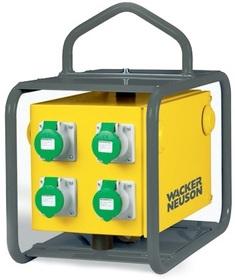 Elektroniczna przetwornica częstotliwości Wacker Neuson FUE-M/S 75A (4 x 32 A)