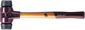 Młotek Halder Simplex EH3002 30 mm (średnio-twarda guma)