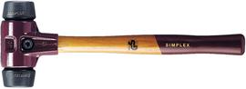 Młotek Halder Simplex EH3002 80 mm (średnio-twarda guma)