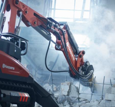 Roboty budowlane Husqvarna – tak wygląda przyszłość branży?